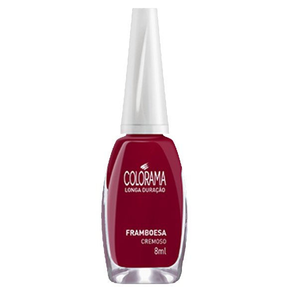 ESMALTE COLORAMA CREMOSO FRAMBOESA 8ML