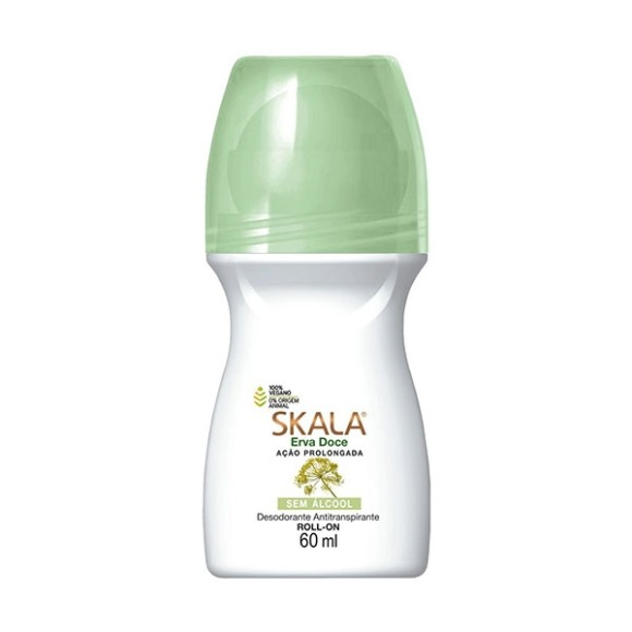 DESODORANTE SKALA ROLL-ON FEMININO ERVA DOCE 60ML