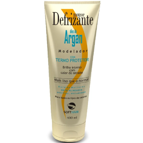 DESFRIZANTE SOFT HAIR ÓLEO DE ARGAN 240ML