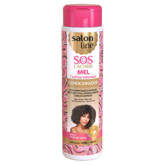 CONDICIONADOR SALON LINE SOS CACHOS INTENSOS 300ML