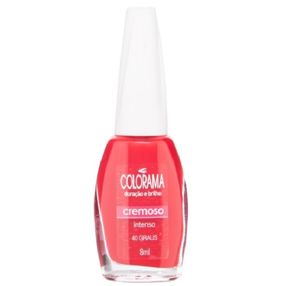 ESMALTE COLORAMA CREMOSO 40 GRAUS  8ML