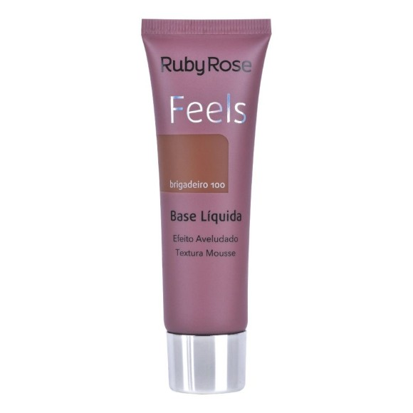 BASE LIQUIDA RUBY ROSE FEELS BRIGADEIRO 100 29ML