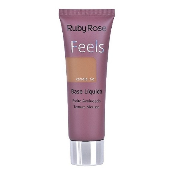 BASE LIQUIDA RUBY ROSE FEELS CANELA 60 29ML