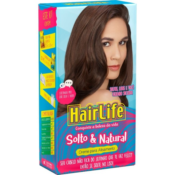 CREME ALISANTE HAIRLIFE SOLTO NATURAL 100G