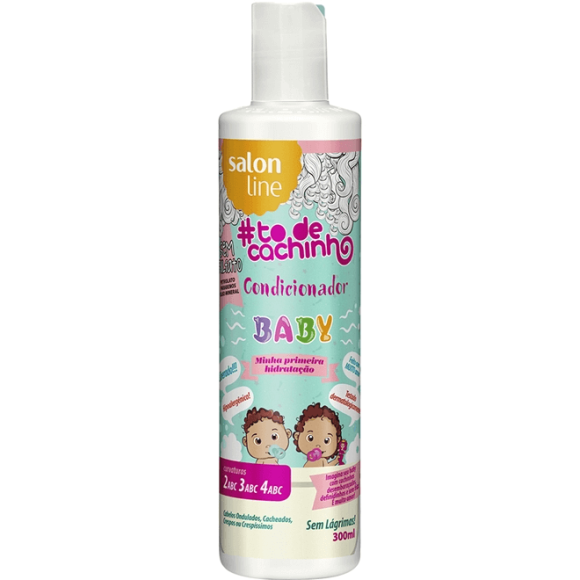 CONDICIONADOR SALON LINE #TODECACHINHO BABY 300ML